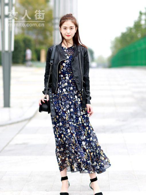 开春好想穿花裙子,时装精的10款碎花裙